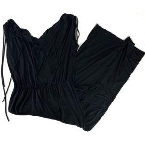 Torrid Womens Jumpsuit Pants Sleeveless Waterfall